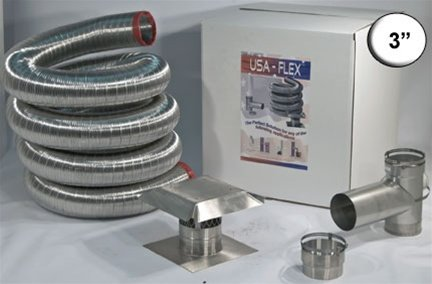 Stainless Steel Chimney Liner Kit Ask The Chimney Sweep