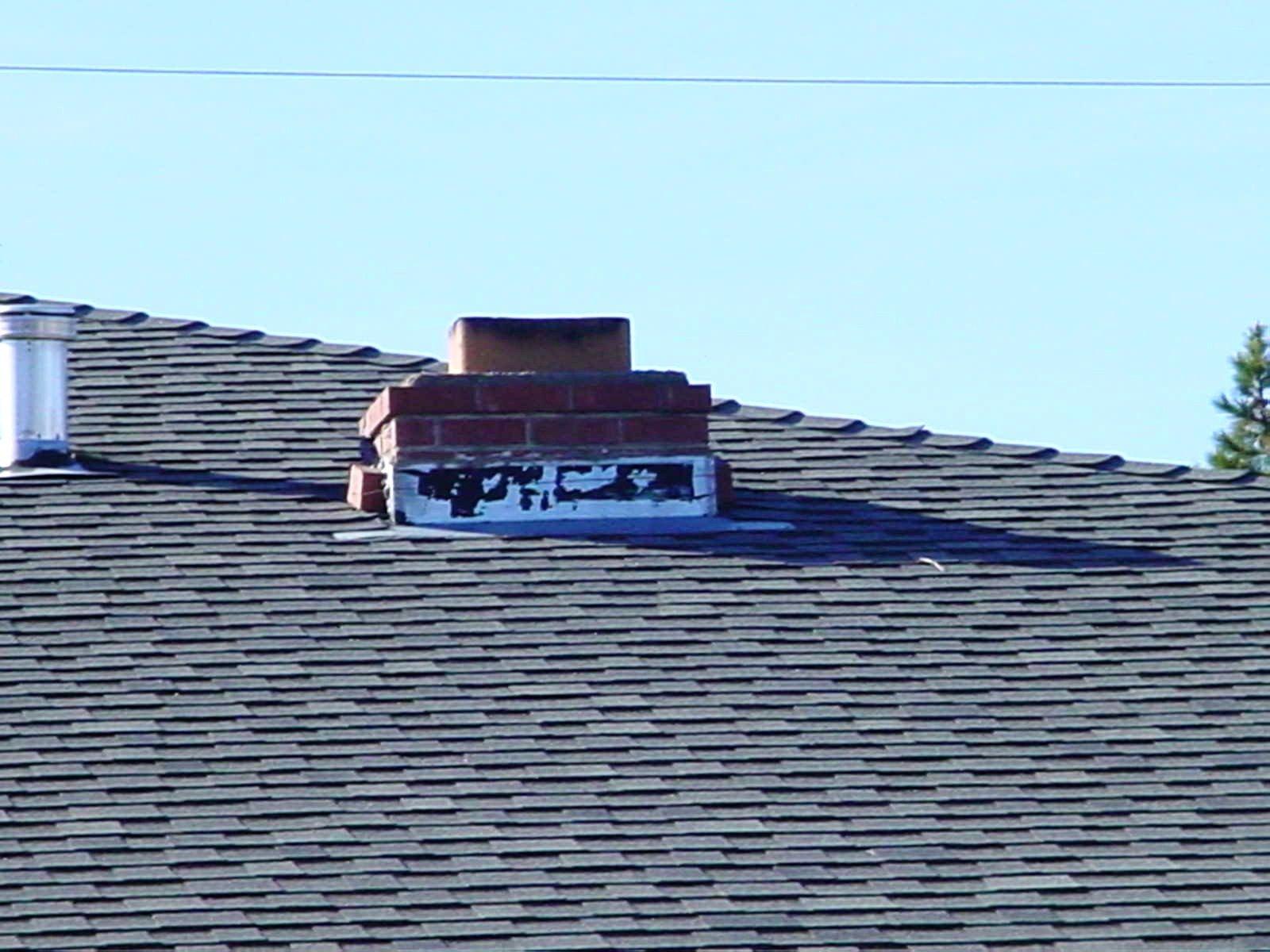 Chimney height is short of chimney penetration.