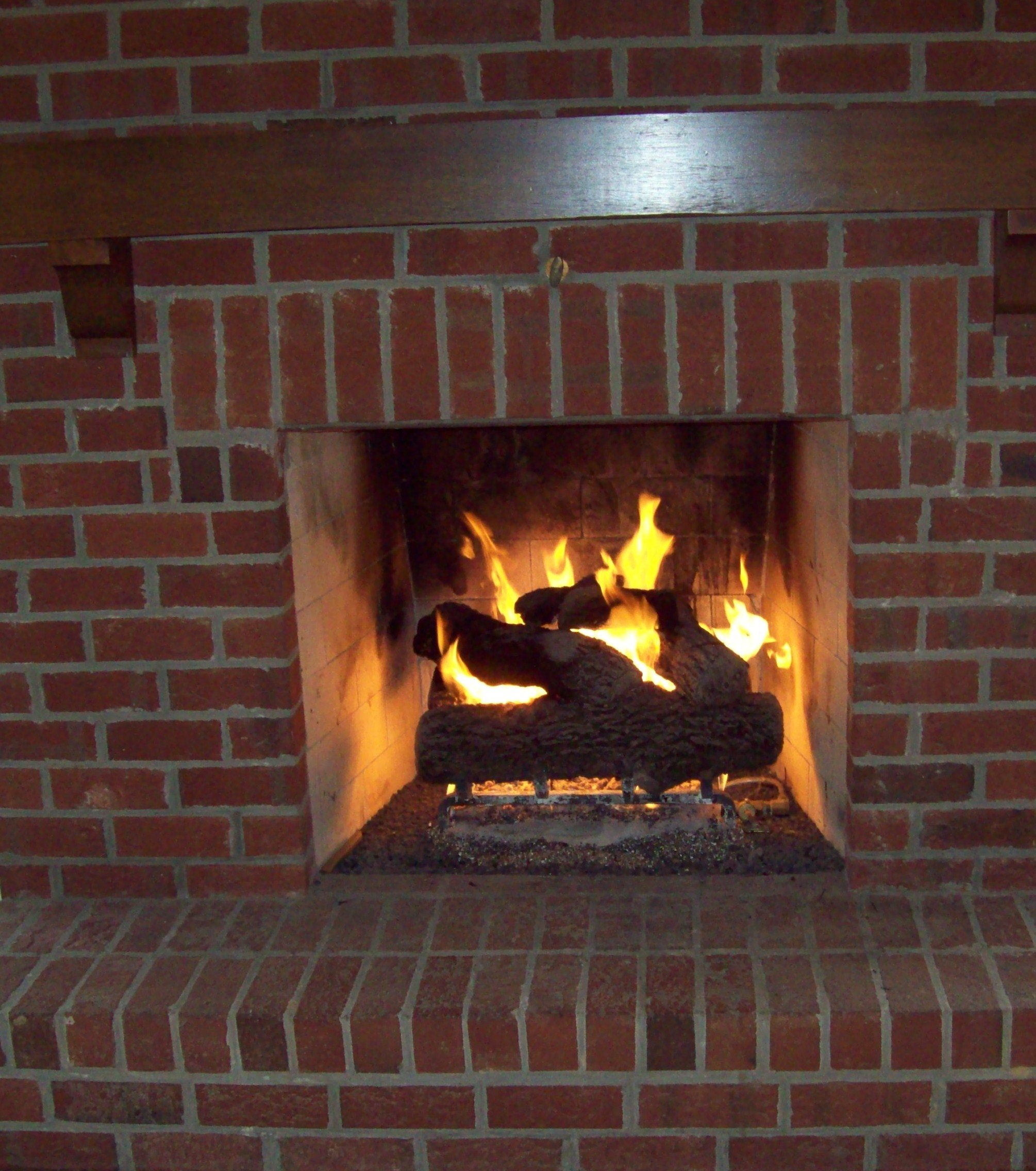 Gas Log Fireplace Chimney Cleaning Fireplaces