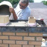 Expansion Joints Around the Top Flue Tile